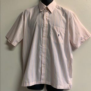 Ralph Lauren button up polo shirt size medium
